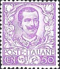 Italy Stamp Scott nr 85 - Francobolli Sassone nº 76 - Click Image to Close
