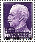 Italy Stamp Scott nr 231 - Francobolli Sassone nº 261 - Click Image to Close